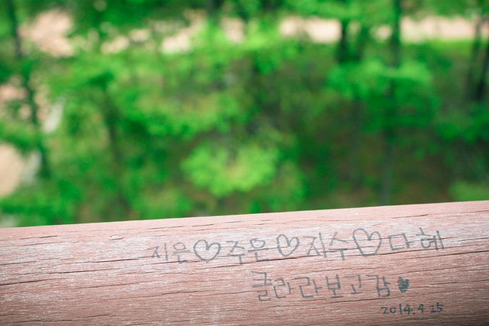 시간의 정원에서의 깨알 낙서들