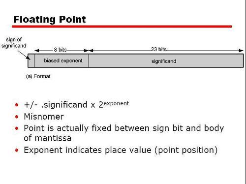 부동소수점 floating point