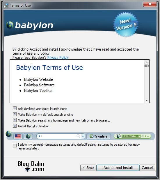 정확한 영어 번역기 babylon_01