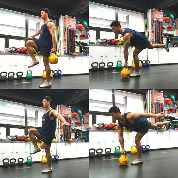 케틀벨 운동, 엉덩이와 하체 라인을 살리는 운동 3가지