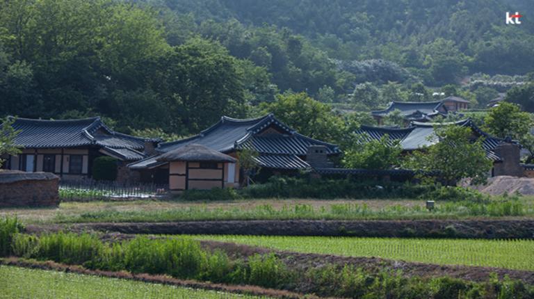 농촌의 전원풍경