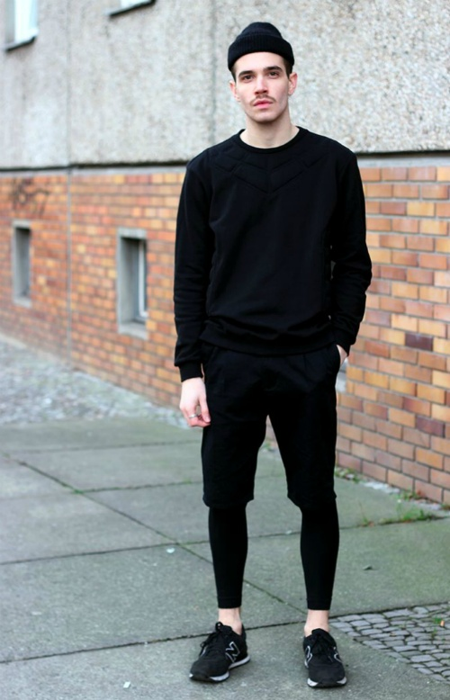 Mens leggings fashion trend 66