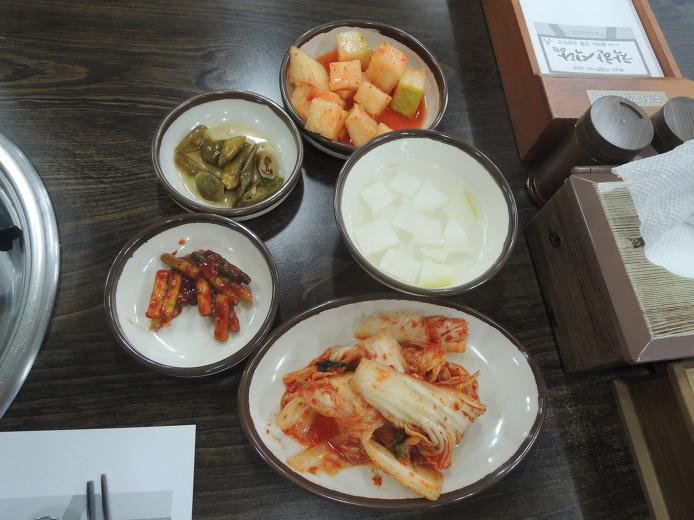 공주 착한식당 황해도 전통 손만두국