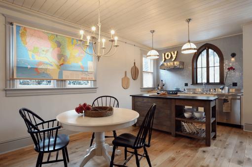 Arched Kitchen Window Treatment Ideas