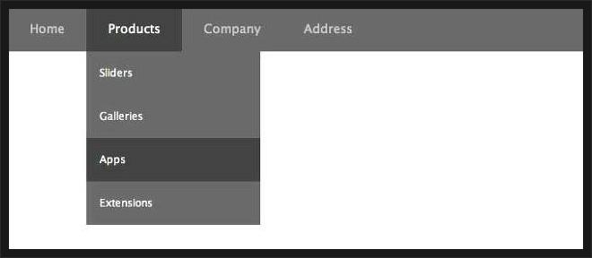 CSS3 드롭다운dropdown 메뉴 만들기