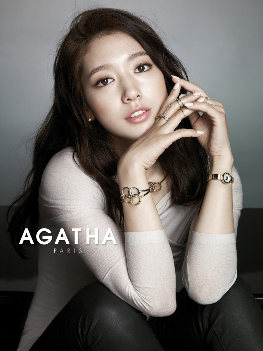 2014 AGATHA PARIS with PARK SHIN-HYE