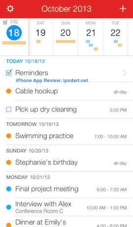 Fantastical 2 아이폰 추천 베스트 앱 2013
