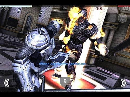 Infinity Blade 인피니티 블레이드 아이폰 아이패드 추천 게임
