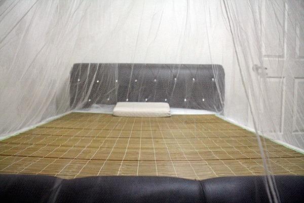여름철 사용했던 모기장 세탁하는 방법