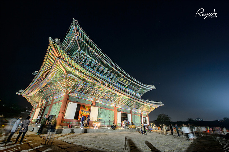 경복궁 야간개장 풍경2