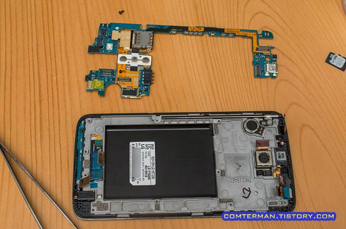 침수 스마트폰 청소