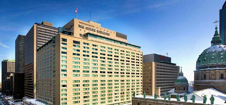 몬트리올 페어몬트 호텔입니다