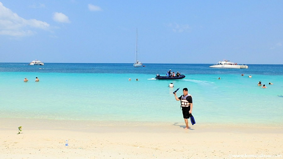 파타아해변사진