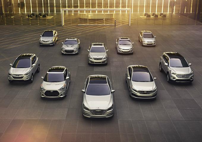 현대자동차 라인업