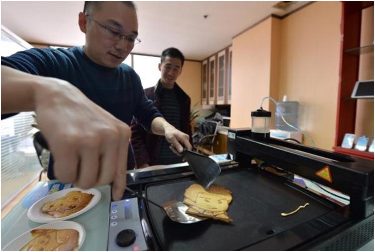 3D프린터, 과자, it, 리뷰, 이슈, 과자 굽는 3d 프린터