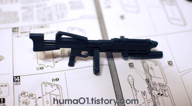 MG 기라도가(GEARA DOGA) PART.04 (무기 및, 백팩 등)