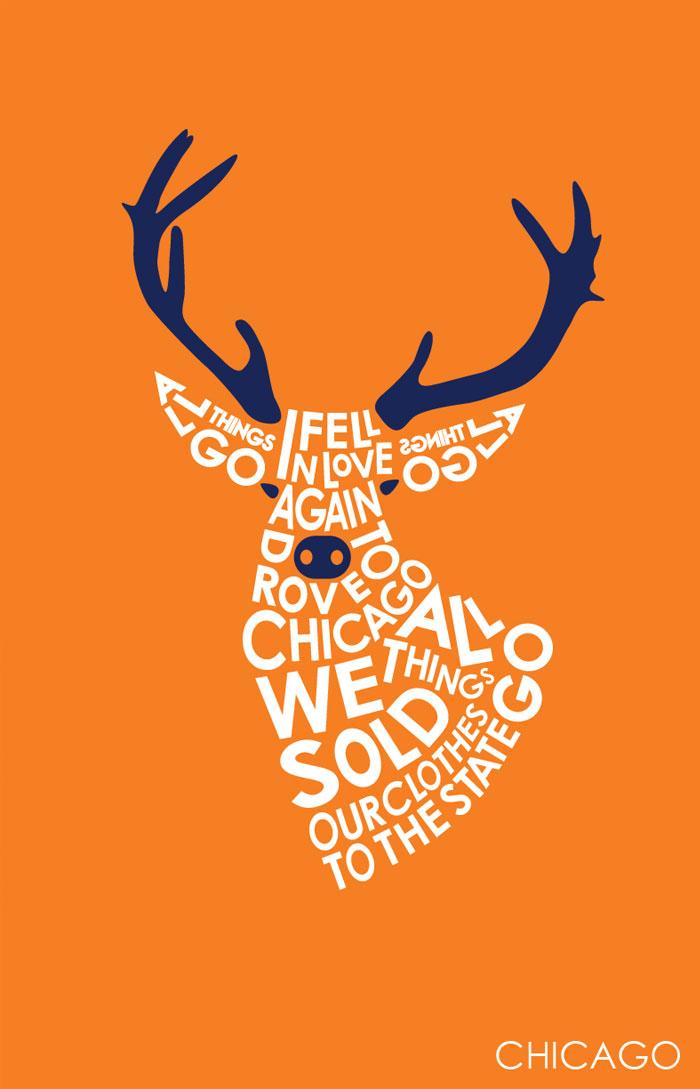Lyrics Creative Poster Designs