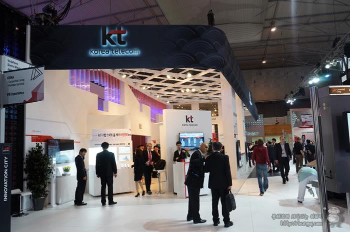 스페인에서 미리 만난 5G, KT 부스 참관기