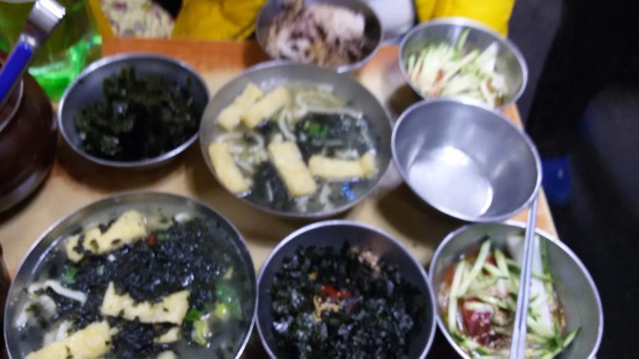 서울남대문 시장은 가격이 착하다. 칼국수+비빔밥+냉면= 4,000원