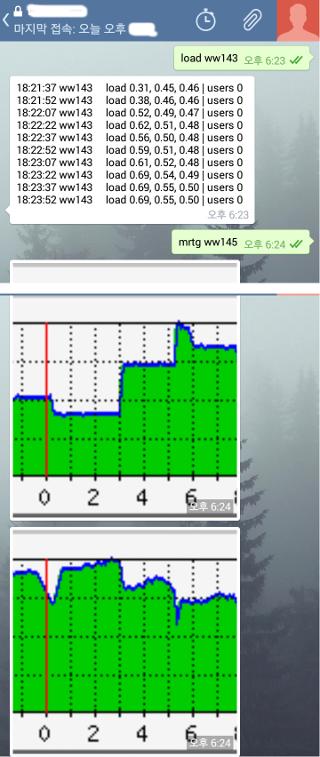 텔레그램 어플 화면