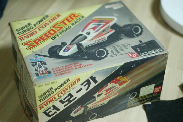 아침만 뉴요커 Bandai Super Turbo Speedster 반다이 고전 Rc