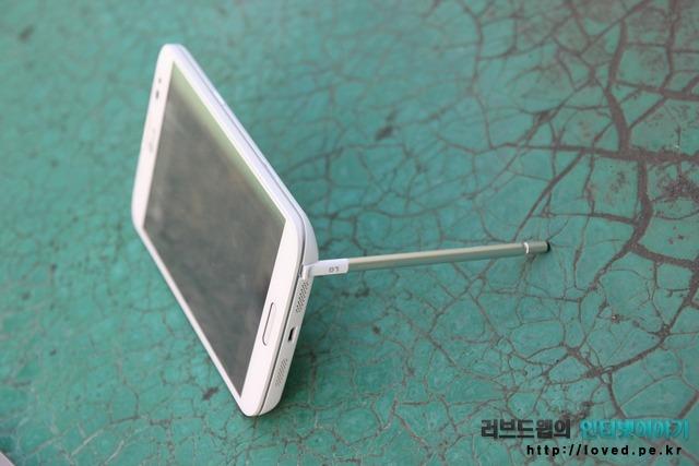 LG 뷰3 러버듐 펜 거치대