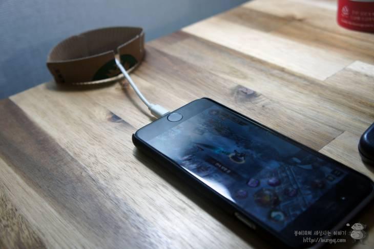커피 슬리브, 핸드폰, 스마트폰,  충전 케이블, 홀더, 만들기