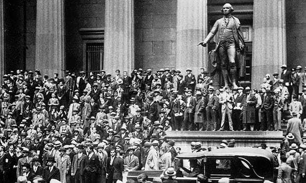 Risultati immagini per crisi del 1929 stati uniti