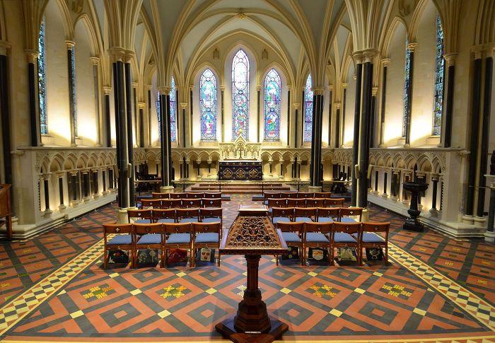 세인트 패트릭 성당 St. Patrick's Cathedral 더블린 내부