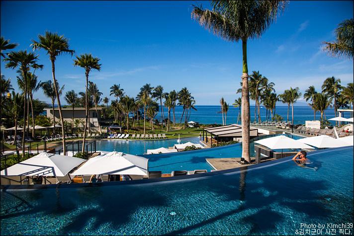 [마우이 호텔] 안다즈 마우이 앳 와일레아(Andaz Maui at Wailea) - 수영장과 레스토랑