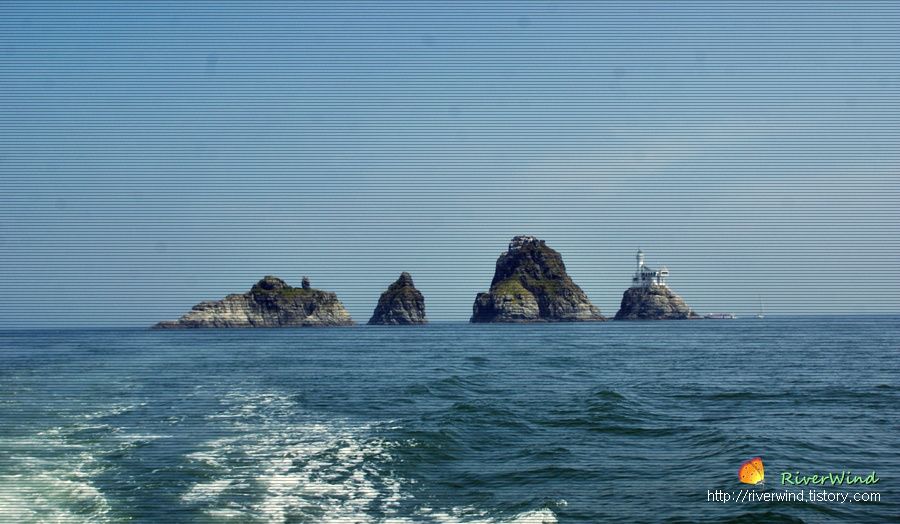수리섬,송곳섬, 굴섬,등대섬