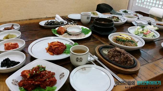 전주 한옥마을, 전주 한정식, 전주 양반가, 양반가 한정식, 전주 맛집