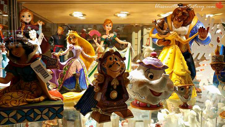 디즈니 미녀와 야수입니다