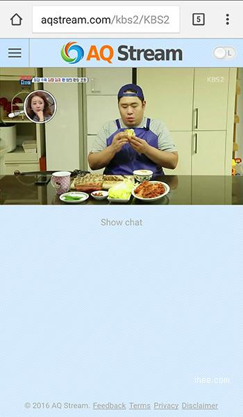 스마트폰으로 KBS  TV보기