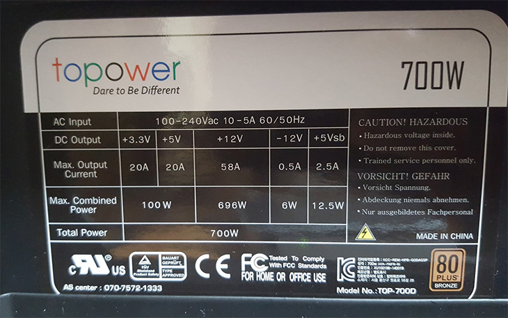 탑파워, TOP-700D, 80PLUS, BRONZE ,설치, 후기,IT,IT 제품리뷰,후기,사용기,컴퓨터 조립을 최근에 새로 했는데요. 그 때 Topower 파워서플라이를 이용해 봤습니다. 문득 탑파워 TOP-700D 80PLUS BRONZE 설치 후 안정적으로 동작하고 있는지가 궁금해졌습니다. 파워서플라이 테스트 하는 방법도 제가 영상으로 올려놓았는데요. 간단히 테스터기를 이용해서 확인이 가능하죠. 저는 조금 더 좋은 테스터기를 이용해서 전압변동량을 확인해보려고 합니다. 파워서플라이는 AC를 DC로 바꿔주는 장치 입니다. 컴퓨터에서는 12V를 가장 많이 사용하는데 이것을 얼마나 안정적으로 공급해주느냐는 상당히 중요한 부분 입니다. 파워서플라이는 컴퓨터의 심장역할을 합니다. 안정적인 전력공급은 모든 부품의 수명과 연관이 있고 안정적인 사용에 절대적으로 영향을 끼치게 되죠.