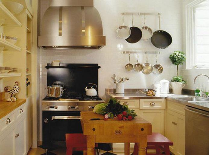 작은 주방 인테리어를 위한 30가지 디자인 아이디어