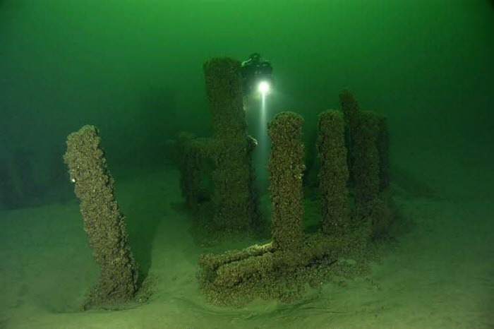 Lake Michigan Stonehenge