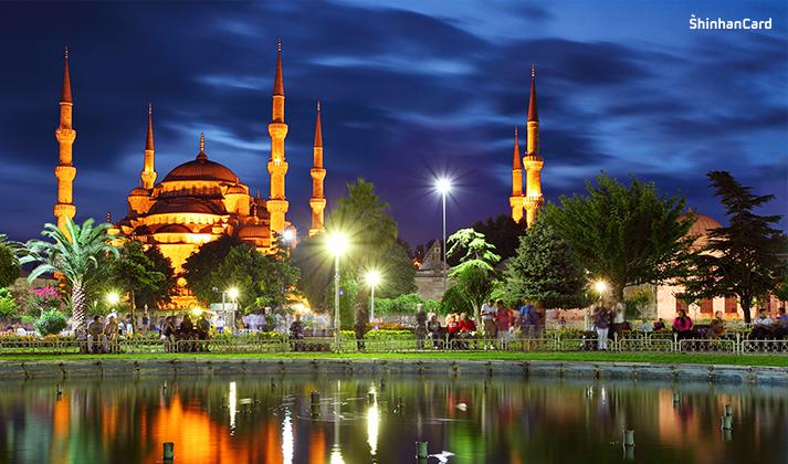야경이 예쁜 도시 이스탄불