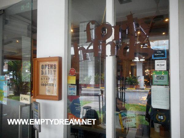싱가포르 여행 - 티옹바루 북스 액추얼리, 플래인 바닐라 등