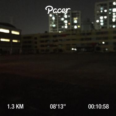 매일 10분 달리기 3일차 - 1.3km