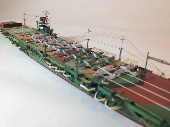 1/700 Aso - aoshima / scrach build (fanal)