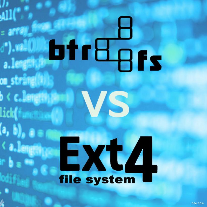 Btrfs vs EXT4 - 파일시스템 선택