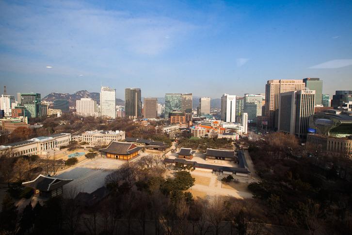 서울 숨은 명소, 시청별관 정동전망대