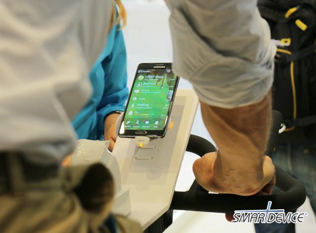 삼성, 삼성전자, S헬스, IFA 2014, 갤럭시노트4, 갤럭시노트, 삼성 S헬스, 피트니스 앱, 피트니스,
