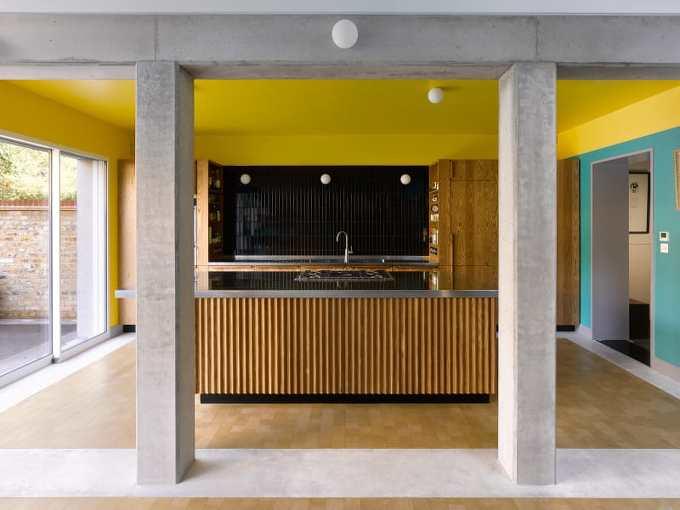 *런던 북부 고택의 리노베이션-[ David Kohn Architects ] Sanderson House