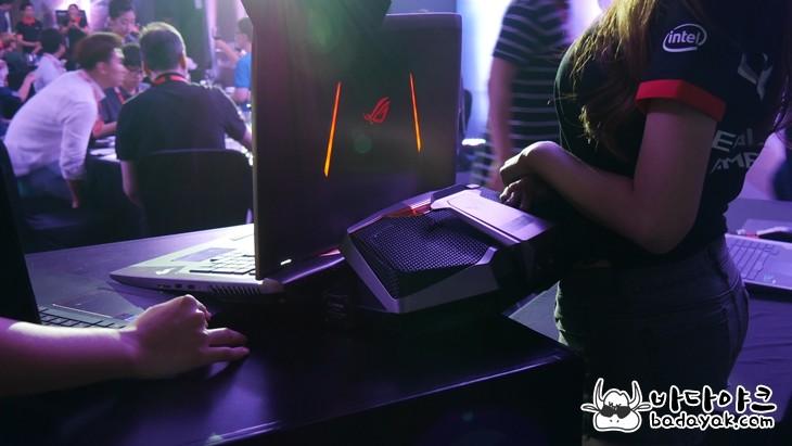 수냉식 노트북 에이수스 게이밍 노트북 GX800