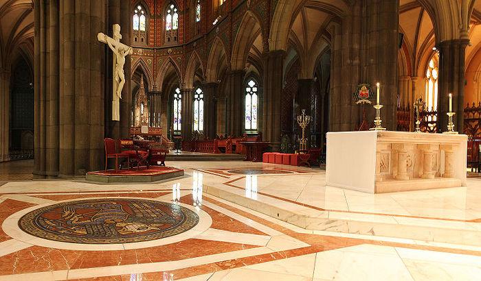 세인트 패트릭 성당 St. Patrick's Cathedral 멜버른 내부