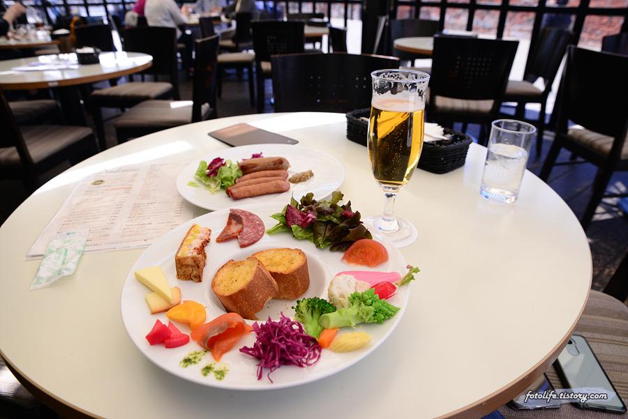 [일본/하코다테] 분위기 좋은 레스토랑, 미나토노모리(みなとの森)