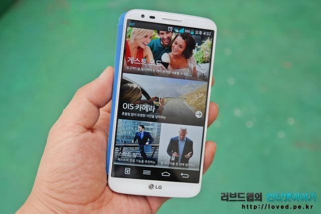 LG G2 게스트모드와 오토다이어리는 굿! G2 전면 터치 버튼은 글쎄!