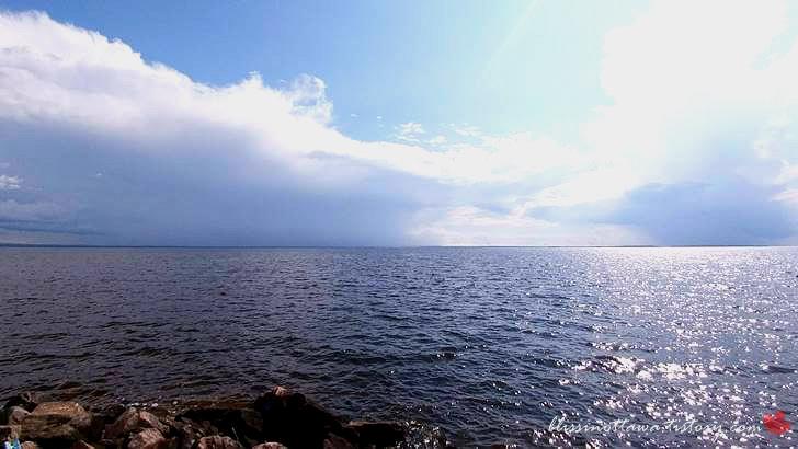 니피싱 호수입니다